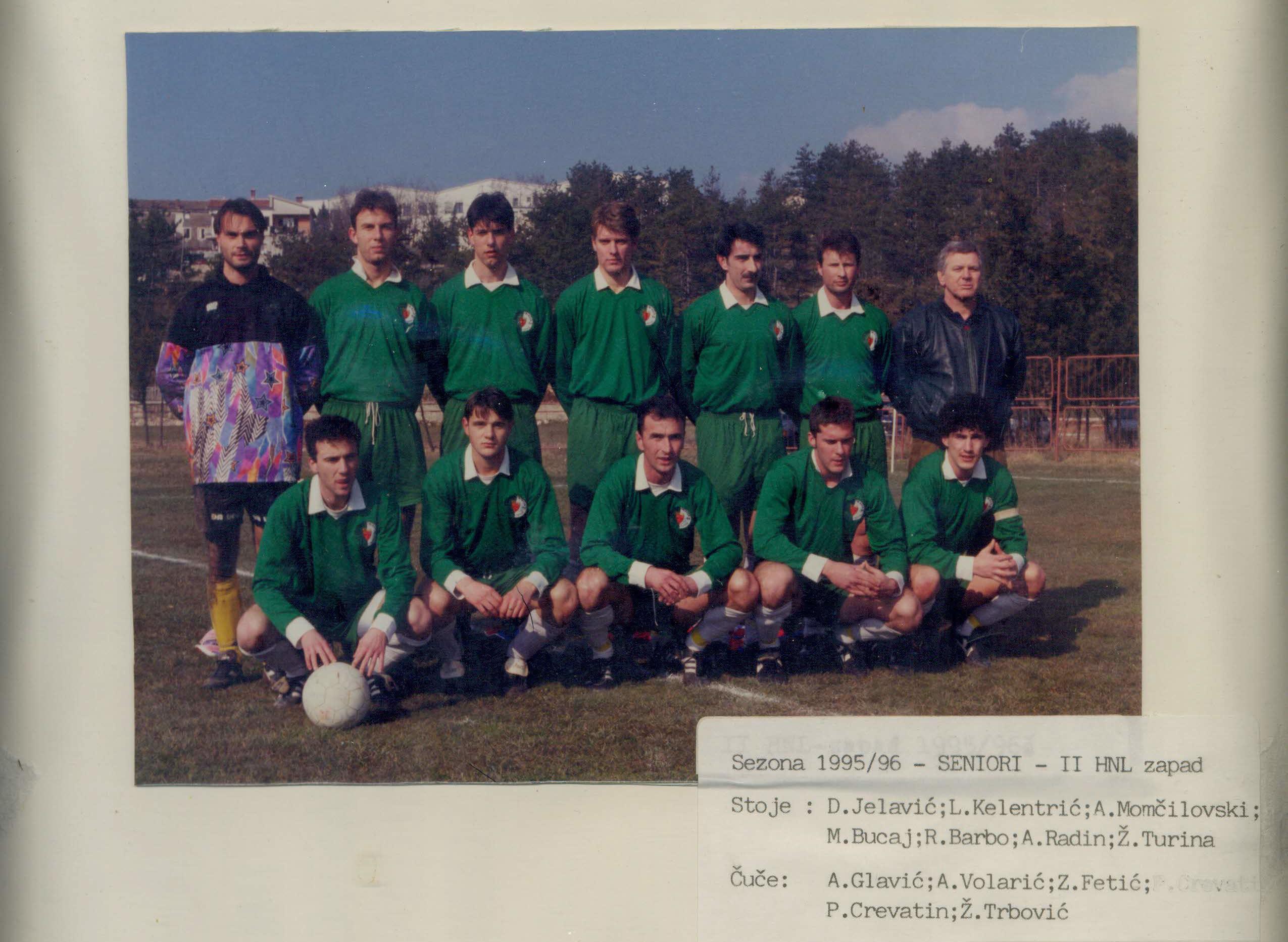 Sezona 1995/1996