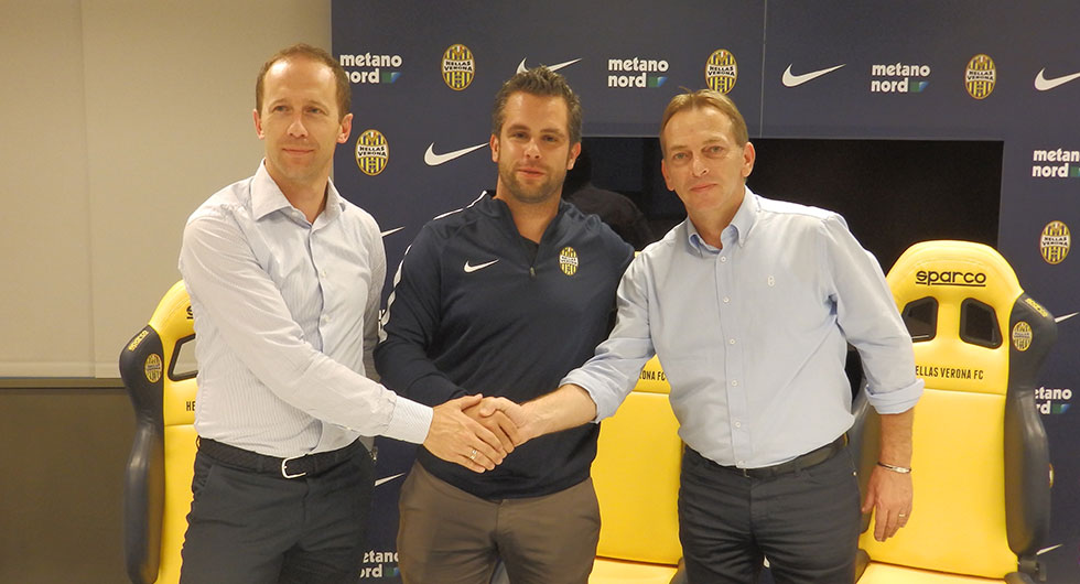 Potpisan ugovor o pridruživanju s Hellas-om Verona